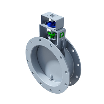 Damper Valve for Fumes and High Temperture